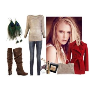 Over-the-knee boots style