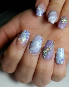 Sculpted nails care