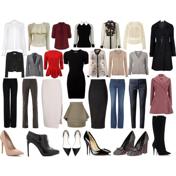 How-to assemble-your-closet-capsule