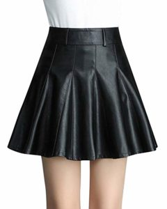 Quje leather skirt
