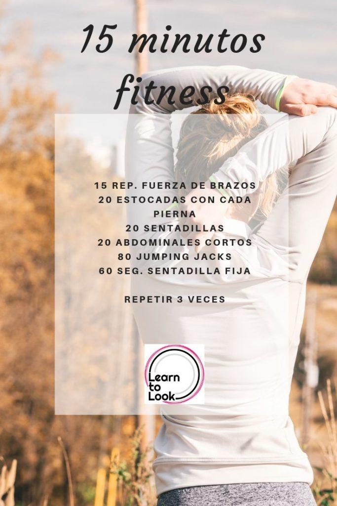 Fitness en 15 minutos rutina