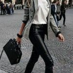 leather pants rocjer style