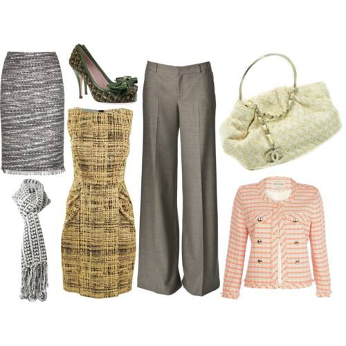 tweed: como vestir en invierno