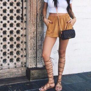 streetstyle gladiadora bohemio
