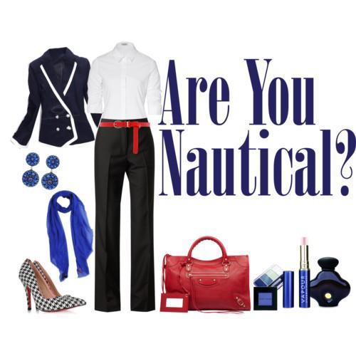 uniforme estilo nautico